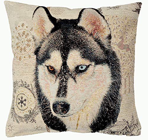 Amber Textile Siberian Husky