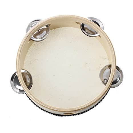 Pandereta piel de oveja, de Lumanuby, superresistente instrumento de percusión para niños Juguetes infantiles