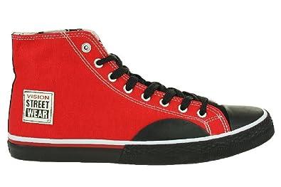 Günstig Kaufen Besten Verkauf Schuhe Canvas High red/black Gr. 41 Vision Streetwear Erschwinglich Günstig Online Günstige Angebote Billig Authentisch XogCxv2o