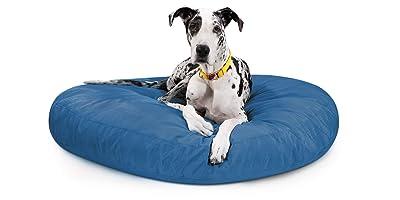 K9 Ballistics Round Dog Bed Nearly Indestructible & Chew Resistant