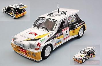Solido SL1850014 Renault 5 Maxi Turbo N.4 Rally DE Asturias 1986 SAINZ-BOTO 1:18: Amazon.es: Juguetes y juegos