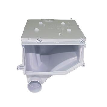 Dispensador de jabón de la cubierta para Whirlpool lavadora equivalente al 481241868391: Amazon.es: Hogar