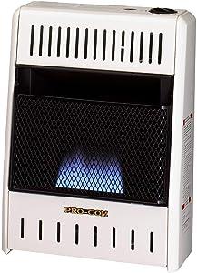 ProCom MN100HBA Ventless Natural Gas Blue Flame Space Heater, 10,000 BTU, Manual Control