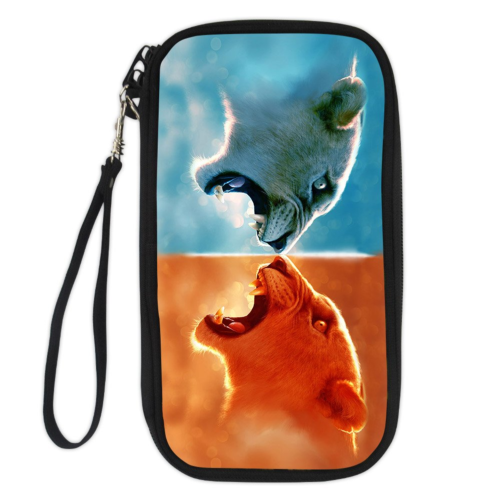 FOR U DESIGNS Animal Printing Passport Holder Document Organizer Clutch Bag