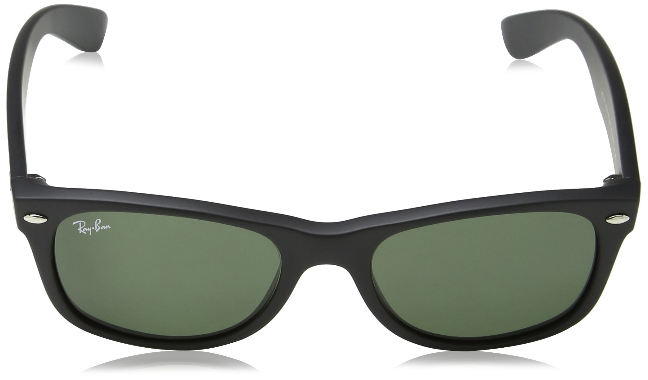 Ray-Ban RB2132 New Wayfarer Sunglasses, Black (622), 52 mm by Ray-Ban (Image #2)