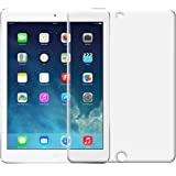 kwmobile Protector de pantalla templado MATE y ANTIREFLECTANTE con efecto antihuellas para Apple iPad Air / Air 2 - Calidad superior