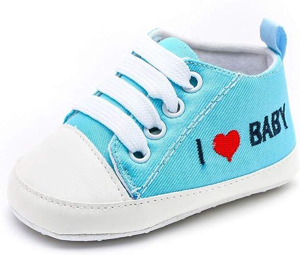 Säuglings Kleinkind Turnschuhe Baby Junge Mädchen weiche Sohle Krippe Schuhe Neu