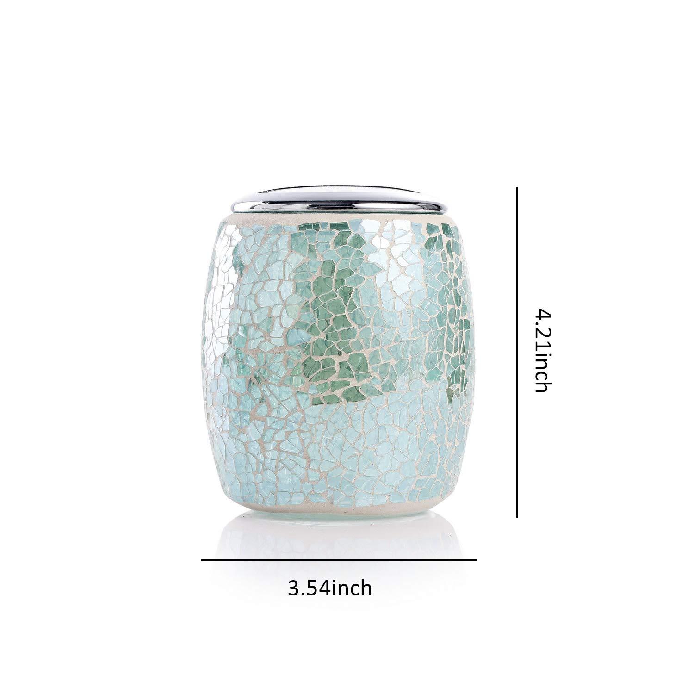 Whole housewares bathroom accessories set 4 piece glass - Bathroom soap and lotion dispenser set ...
