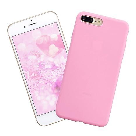 Funda iPhone 7 Plus,Carcasa Silicona del Caramelo Protector ...