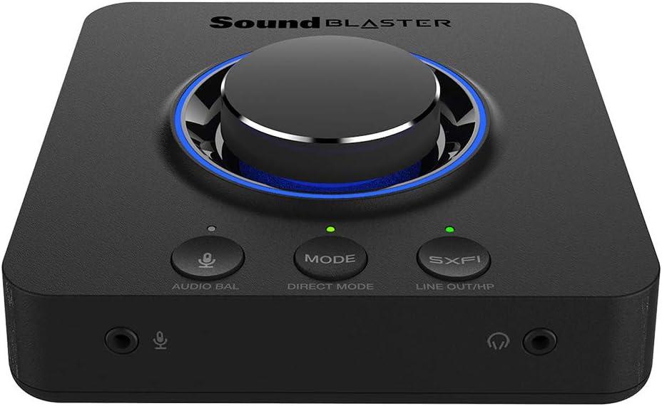Creative Sound Blaster X3 Hi-res Externa Usb Dac Y Amp