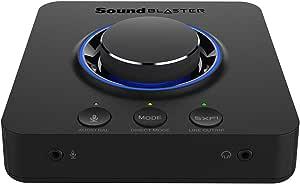 Creative 70SB181000000 Sound Blaster X3 Digital Audio Converter - Black
