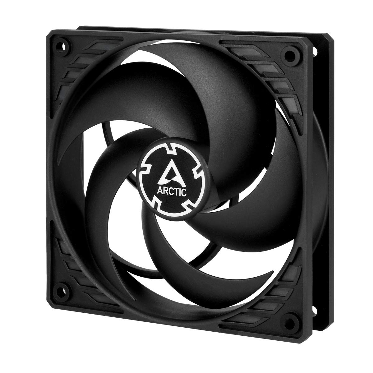 Arctic F12 PWM PST - 120 mm PWM PST Gehä uselü fter - 5er Pack | Case Fan mit PST-Anschluss (PWM Sharing Technology) | Reguliert RPM synchron F12 PWM PST Value pack