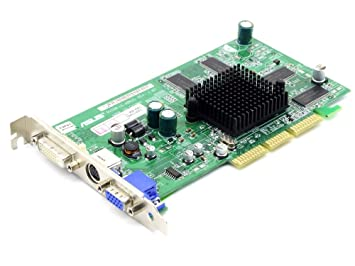 Asus RV280 Le A062S ATI Radeon 9200 128MB DDR AGP VGA TV VIDEO CARD Graphics Card