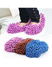 Want 1Pair Non Slip Cover Set Clean Clothe Cleaning Floor Chenille Microfiber Shoe Overshoes Floorcloth Wiping by TJSpecia wholesale