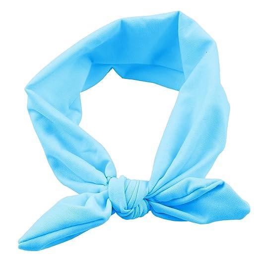Amazon.com  Zhuhaitf Kid Newborn Turban Bow tie Knot Headband Baby Girl  Rabbit Ears Hairband  Clothing ee4a2acb272