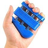 Kabalo Guitar, Piano, Music Instruments, etc Hand Finger Wrist Exerciser Tension Extend Grip Strengthener (colour varies)