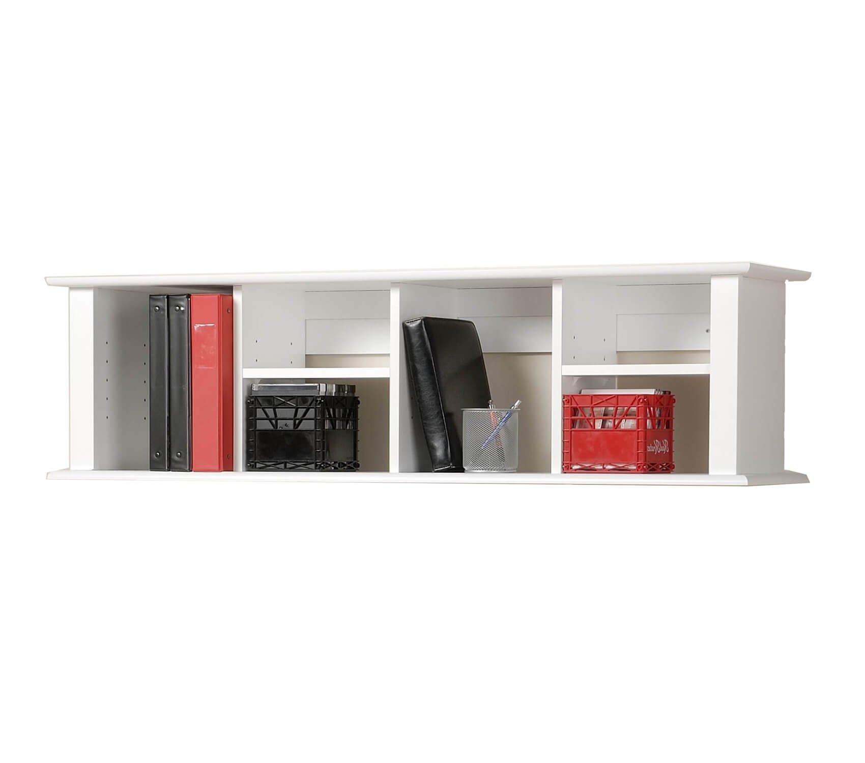 Computer Desk for Small Spaces - Zero Gravity Wall Shelf Desk