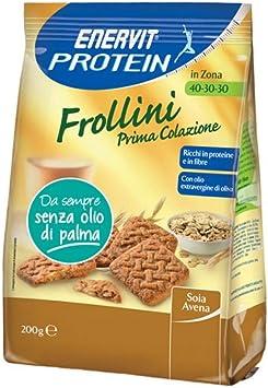 Enervit galletas ricas en proteínas 40-30-30 desayuno de ...