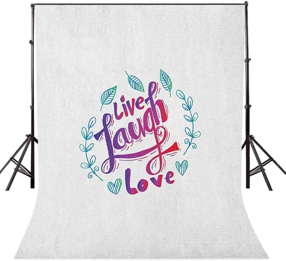 7x10 FT Rose Vinyl Photography Background Backdrops,Retro Revival Floral Pattern with Rose Nautical Icon Anchor Paisley and Heart Background for Photo Backdrop Studio Props Photo Backdrop Wall