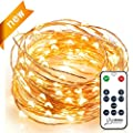 Venhoo Dimmable Copper Wire LED Starry Lights Waterproof Outdoor Indoor Rope Decorative String Lights