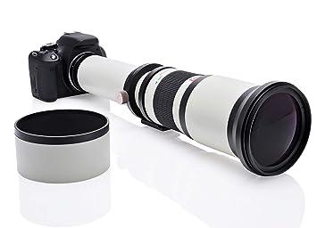 Opteka 650 - 1300 mm Alta Definición Ultra lente de zoom ...
