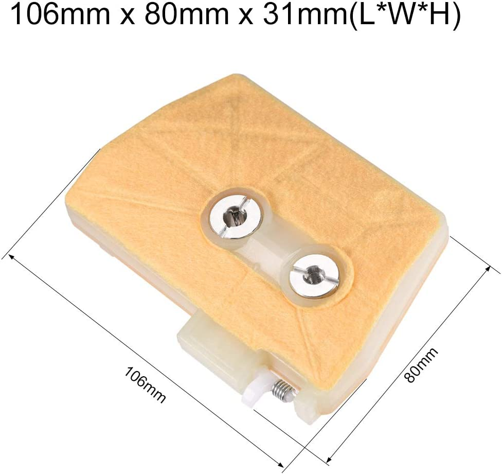 uxcell 2 Pcs Replace AIR Filter Fit for Stihl 038 MS380 MS381 Chainsaw New