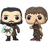 Funko 12378 Game Of Thrones Pop Vinyl Figure 2 Pack Jon Snow Vs Ramsay Bolton Duel, 9 cm