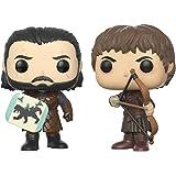 Funko Pop! TV Il trono di spade (Game of Thrones) - Battaglia dei bastardi - Jon Snow & Ramsay Bolton Figura del vinile
