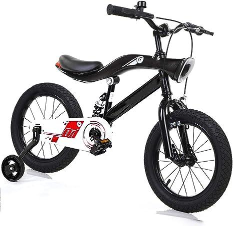 T-XYD Bicicleta para niños, Bicicleta de Equilibrio para bebés con Luces y música 12 Pulgadas 14 Pulgadas 16 Pulgadas Bicicleta antivibración para 2-10 años: Amazon.es: Deportes y aire libre