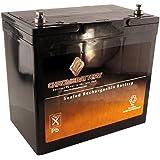 12V 55Ah High Capacity Deep Cycle Battery for Solar Wind Panels