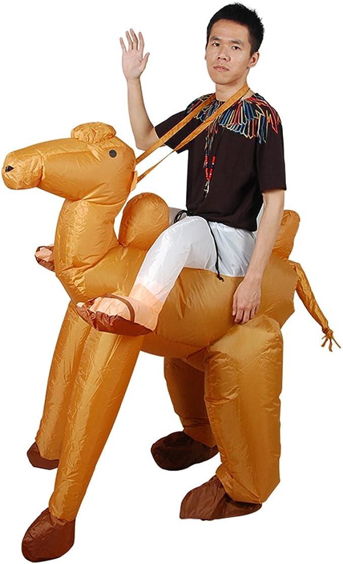 Amazon.com: Disfraz hinchable de camello para niños, vestido ...