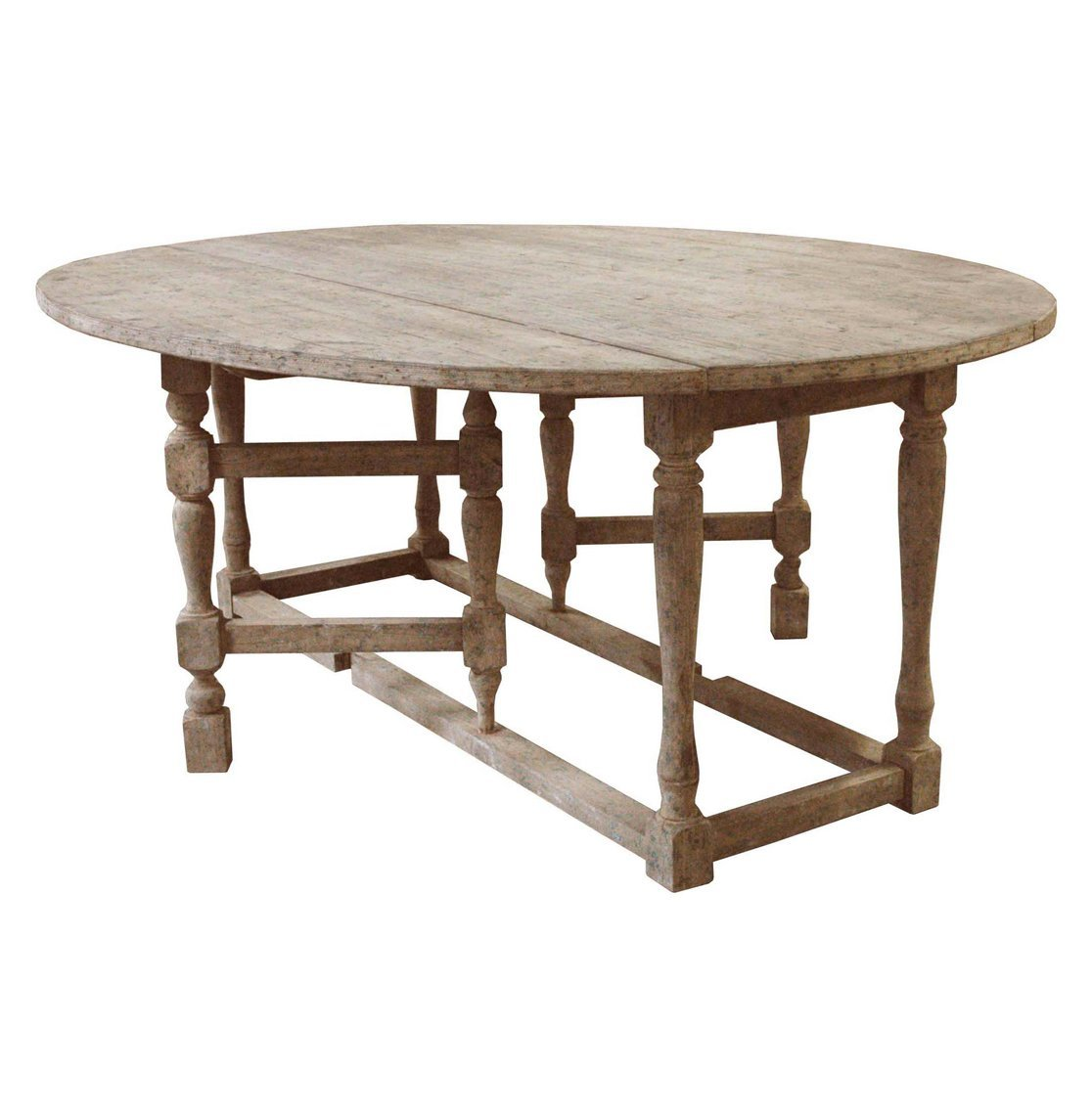 High Quality Amazon.com   Swedish Gustavian Grey Oval Gate Leg Drop Leaf Dining Table    Tables