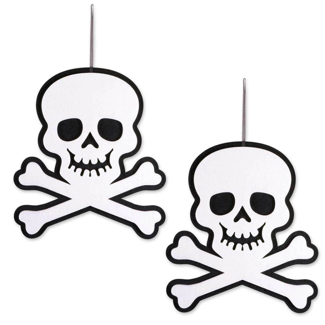 Halloween Indoor and Outdoor Hanging Door Decorations and Wall Signs Scary Party Supplies (D) by Coerni (Image #6)