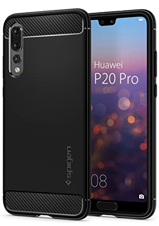 info for f7dd7 fdeea Spigen Rugged Armor Works with Huawei P20 Pro Case (2018) - Black