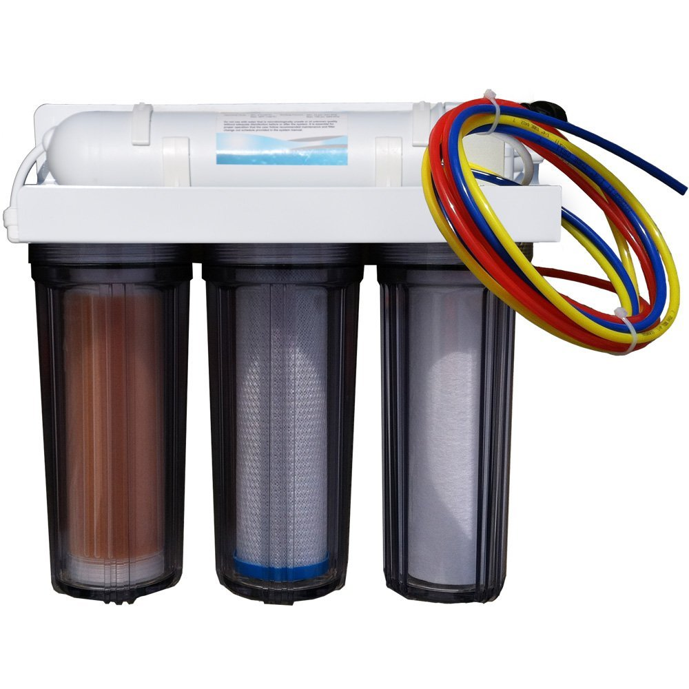 Line Water Filter 5 Stage Aquarium Ro Di Reefmaster System With 100 Gpd Membrane And