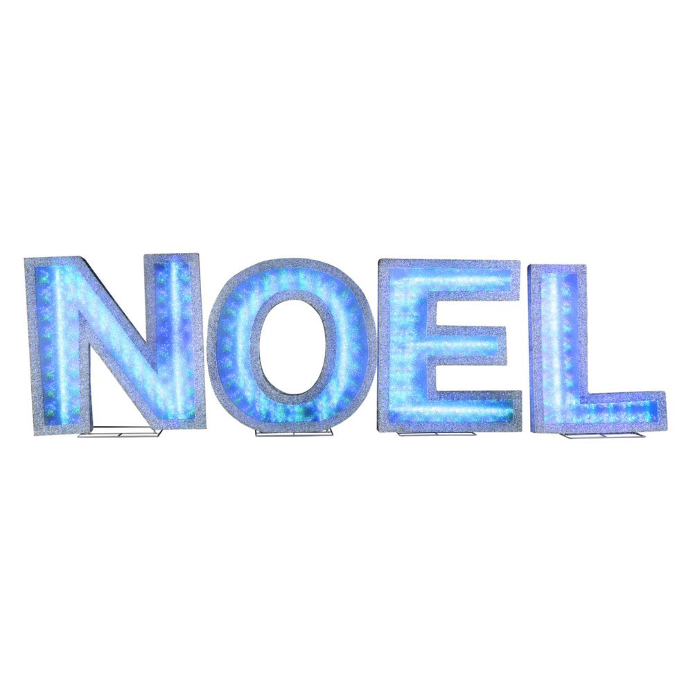 Gemmy 19 in. Lights Shadow Box NOEL Lighted Display
