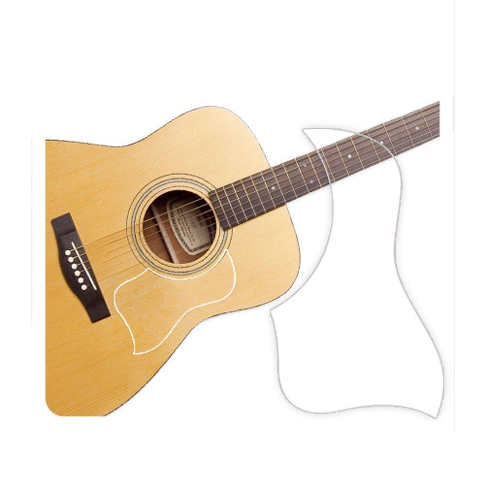 Healingshield Premium Acoustic Guitar Pickguard Style Type Clear Matt