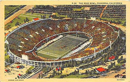The Rose Bowl Pasadena, California, CA, USA Old Vintage Football Postcard Post (Rose Bowl Pasadena California)