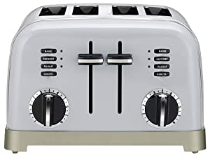 Cuisinart CPT-180 Metal Classic 4-Slice Toaster (Light Grey)