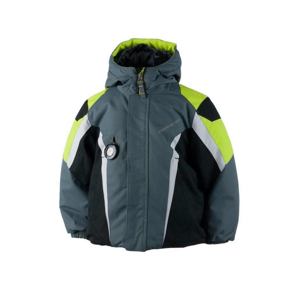 Obermeyer Kids Baby Boy's Raptor Jacket (Toddler/Little Kids/Big Kids) Graphite 5