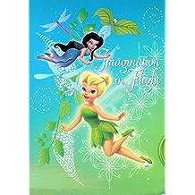 Disney Fairies Tinker Bell Kids Plush Throw Blanket 59in X 78in (150cm X 200cm)