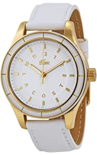 Lacoste Sidney Gold-Tone Leather Ladies Watch 2000742