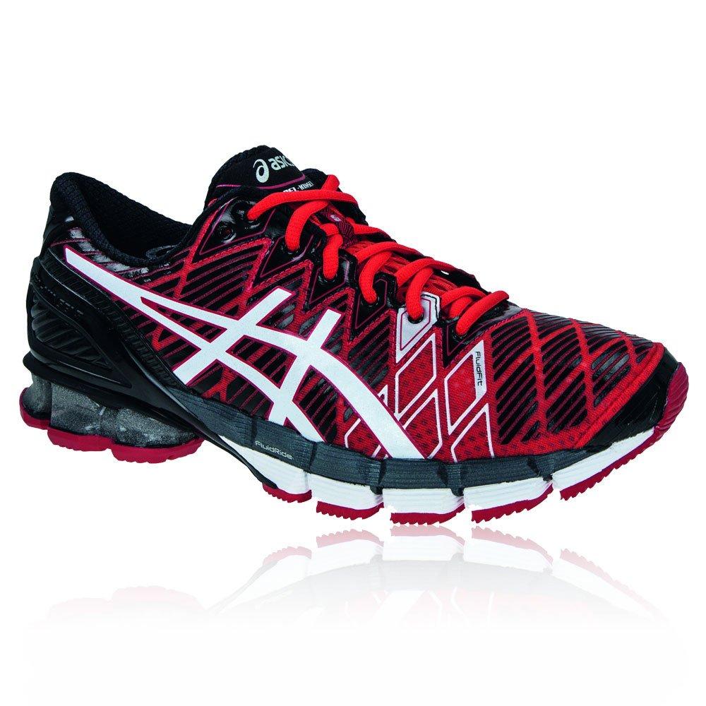 meet a1088 a6f5a Amazon.com   Asics T3E4Y Men s GEL-KINSEI 5 Running Shoes, Red White Black,  7H   Running