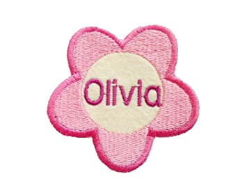 Personalised Embroidered Fabric Name Tag ...