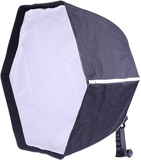 Neewer® Profesional Plegable Hexagonal Caja de luz 20/50 cm Plegable Caja de luz difusor con empuñadura para Flashes Speedlights: Amazon.es: Electrónica