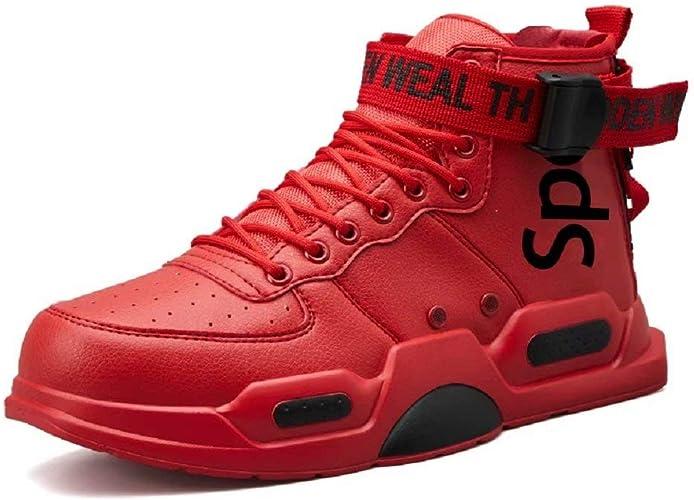 FUSHITON Baskets Mode pour Hommes Chaussures Montantes Chaussures de Course Chaussures de Marche Sport Baskets