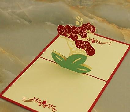 MADE4U [cumpleaños colección] Kirigami Papercraft 3d Pop Up ...