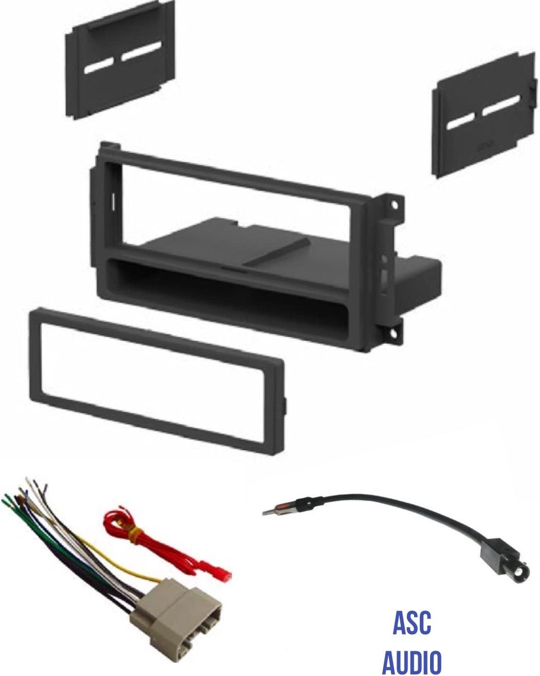 [TBQL_4184]  Amazon.com: ASC Audio Car Stereo Radio Install Dash Kit, Wire Harness, and  Antenna Adapter to Add a Single Din Radio for some 2007-2016 Chrysler Dodge  Jeep- Important: Read Compatible Vehicles /Restrictions Below: | 2007 Dodge Radio Wiring Harness |  | Amazon.com