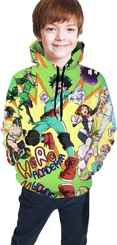 ASDWD Kids Lightweight Sweatshirt Sport Pullover with Hood for Men Women Boy Girls