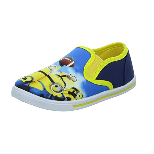 MINIONS - Mocasines para niño, color azul, talla 26: Amazon.es: Zapatos y complementos